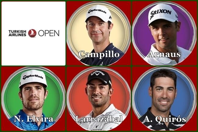 Españoles en el Turkish Airlines Open 19