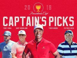 Tiger Woods despeja dudas y se elige a si mismo jugador del equipo de EEUU para la Presidents Cup