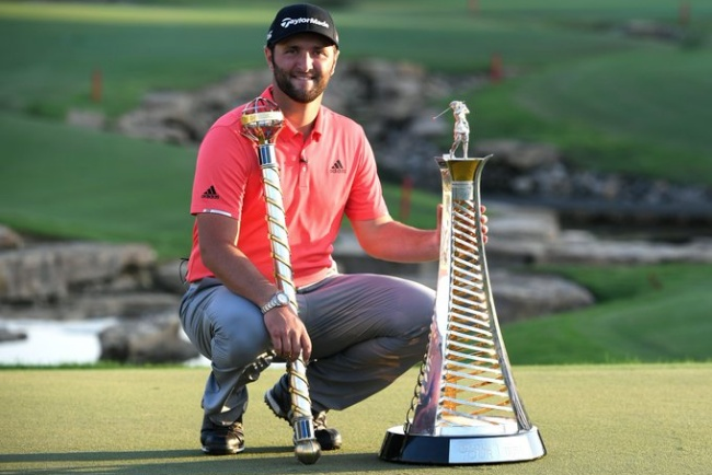 Jon Rahm, European Tour, DP World Tour Championship, Race to Dubai,