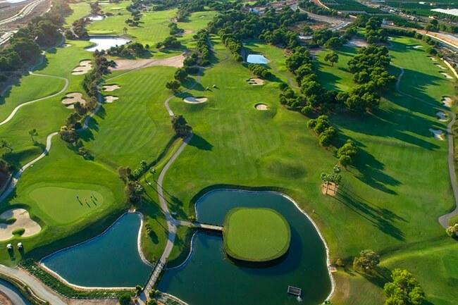 Lo Romero Golf vista aérea