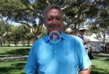 Un grande, muy grande, del Golf español, Manuel Piñero, elogió a OpenGolf en su décimo aniversario