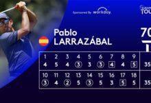 Pablo Larrazábal mete la directa en el Alfred Dunhill hacia su quinta victoria en el European Tour