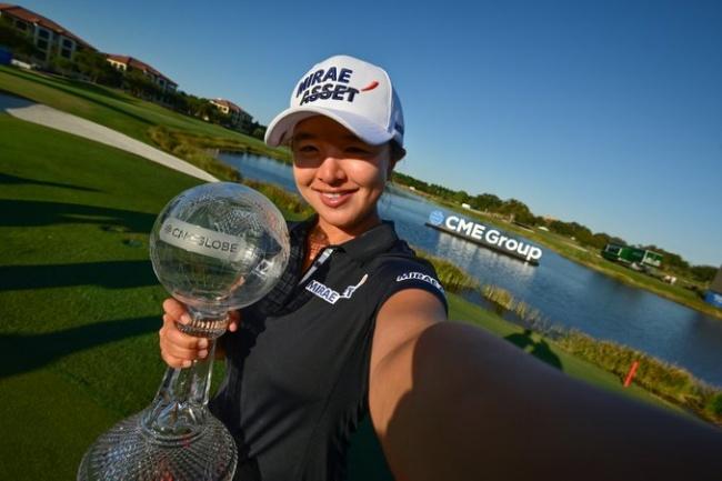 Sei Young Kim, CME Group Tour Championship, LPGA,