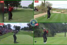 Vea y compare el Swing de Tiger Woods con el paso del tiempo. 1997, 2008, 2013 y el actual de 2019
