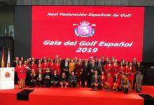 El Golf español homenajeó a sus campeones. Rahm, Sergio, Larrazábal, 'Aza', Carlota, Mueller,…