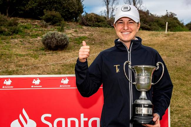 2019 3j Campeonato de España de Profesionales Femenino Luna Sobron campeona FOTO Felipe Pérez (4)