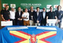 Jesús María Arruti, brillante campeón del Costa de Almería Camp. de España de Profesionales Senior