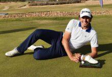 Alfredo García hace doblete revalidando el título de Campeón de la PGA España en Hacienda del Álamo