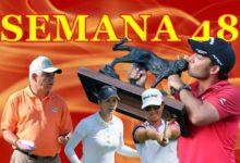 Un título (Larrazábal), un subcampeonato, y dos Top 10, cosecha de la Armada en Semana 48