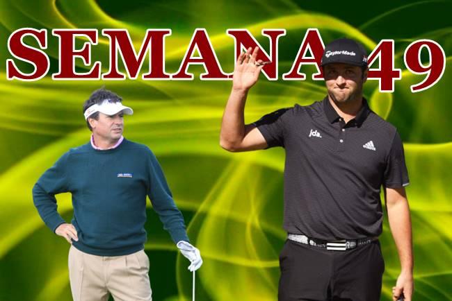 El 2º puesto de Jon Rahm en el PGA y el 6º de M. A. Martín, éxitos de la Armada en la Semana 49/2019