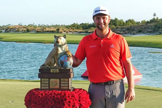 Jon Rahm gana el Hero World Challenge