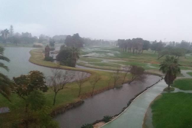 Oliva Nova lluvias