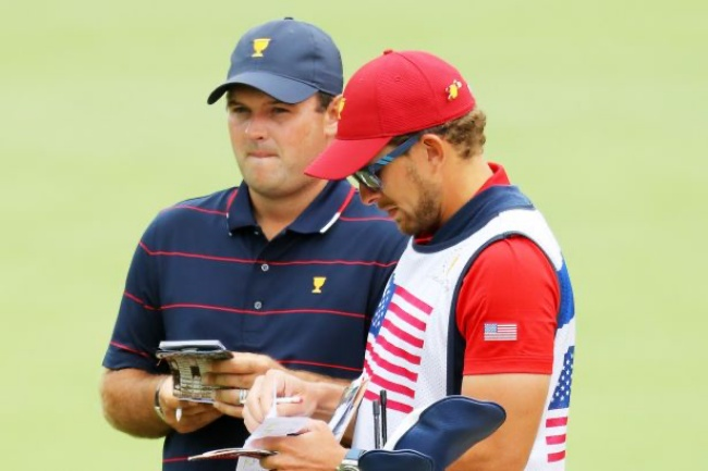 Patrick Reed, Kessler Karain, Presidents Cup 19, Royal Melbourne,