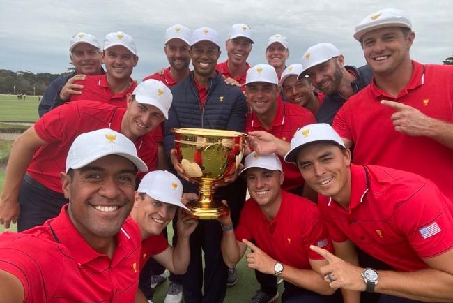Presidents Cup 19, Tiger Woods, Royal Melbourne,