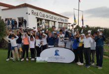 Rafa Cabrera Bello puso el broche de oro a su Circuito Juvenil en el Real Club de Golf Las Palmas