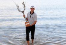 Rasmus Hojgaard toca la cima en el  Mauritius Open y se postula a gran promesa del Golf europeo