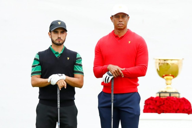Tiger Woods, Abraham Ancer, Presidents Cup 19,