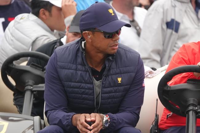 Tiger Woods, Presidents Cup 19, Royal Melbourne,
