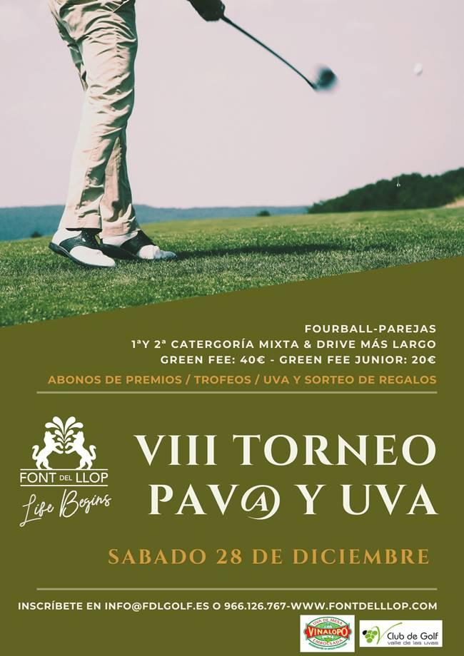 VIII Torneo Pav@ Font del Llop 2019 650 Cartel