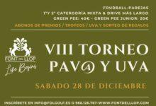 El VIII Torneo Pav@ y Uva Embolsada, broche de oro al curso 2019 en Font del Llop Golf Resort