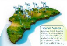 Descubre los once parajes naturales de Alicante Natura, la red ambiental de la provincia de Alicante