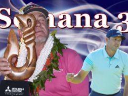 Jiménez, campeón en Hawaii, y Sergio García con su Top 10 en Abu Dhabi, reinan en la Semana 3/2020