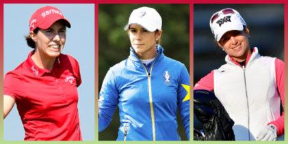 Carlota Ciganda, Azahara Muñoz y Beatriz Recari inician el año en el novedoso Gainbridge LPGA
