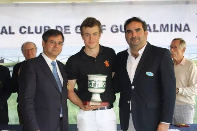 Eduard Rousaud campeon Copa Andalucia