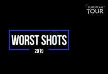 El European Tour da carpetazo definitivo a 2019 con esta recopilación de los peores golpes del año