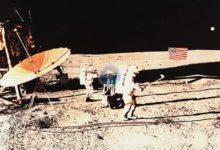 Hace casi medio siglo (1971), el comandante Alan Shepard «jugaba» al golf por primera vez en la luna