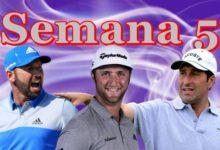 Olazábal, García y Rahm, son los protagonistas de la Armada con sus resultados en la Semana 5/2020
