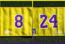 El PGA recordó a Kobe situando «su» bandera en el hoyo 16 a 24 pasos del frente y a 8 por la izquierda