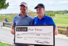 Bradley Dredge, jugador del Tour Europeo, triunfa en «Lo Romero Classic», evento del Evolve Pro Tour
