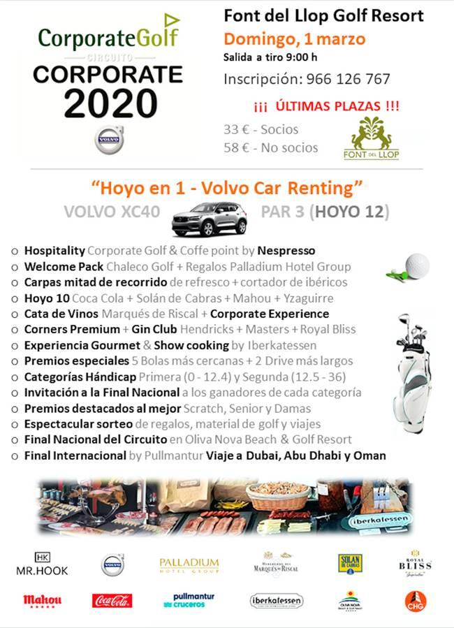 Circuito Corporate 2020 Font del Llop