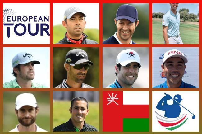 Españoles en el Oman Open 2020