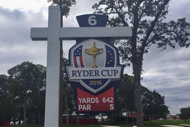 Hoyo más largo en la historia de la Ryder Cup. Foto @RyderCupEurope
