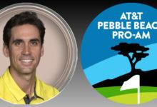 Cantantes, actores, famosos y… golfistas acuden a la fiesta de Pebble Beach donde también está Rafa