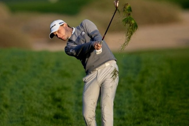 Rasmus Hojgaard, European Tour, Oman Open 20, Al Mouj Golf, AP Photo,