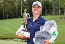 Stephanie Kyriacou, amateur de 19 años, gana la primera prueba del año en el Ladies European Tour