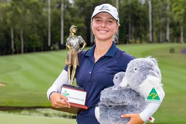 Stephanie Kyriacou campeona en el Australian Ladies Classic