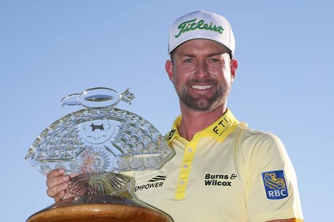Webb Simpson campeon Phoenix Open. Foto @PGATour