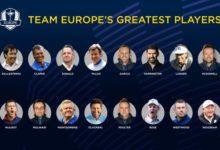 Seve, Chema o Sergio, ahora puede votar quién es el mejor jugador europeo en la historia de la Ryder