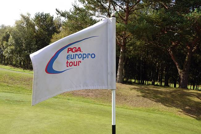 Bandera PGA EuroPro Tour