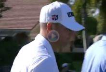 El Golf es duro… Esta dolorosísima corbata privó a Brendan Steele de un Hoyo en Uno… y un coche