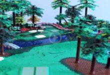 ¡Qué pasada! Construye una réplica del hoyo 12 del Augusta Nat., el famoso par 3, con piezas de Lego
