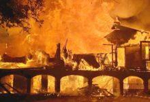 Davis Love y su esposa salen ilesos del incendio que destruye el que fuera su hogar de más de 20 años