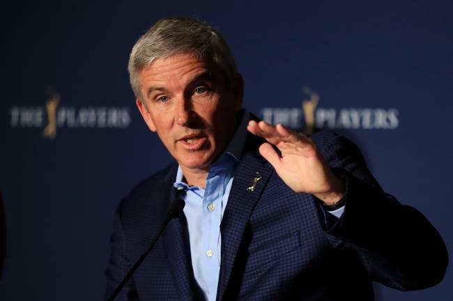 Jay Monahan durante la conferencia de prensa