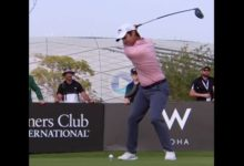 Les mostramos el elegante swing a cámara lenta de Jorge Campillo, campeón en el Qatar Masters del ET