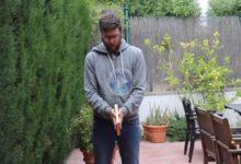 Consejos de GOLF desde casa: José Vicente Pérez nos enseña a entrenar el Putt con un simple libro