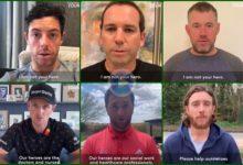 Jon, Sergio, Rory, Rose,… no son tus héroes. Para ellos, los héroes son los que luchan contra el COVID